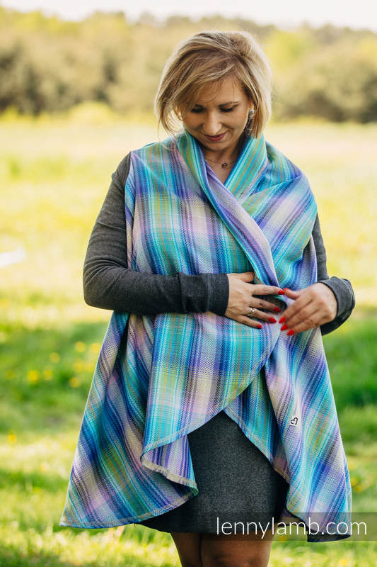 Long Cardigan - size S/M - Little Herringbone Petrea #babywearing