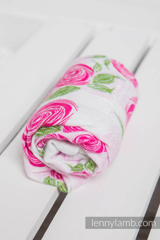 Muslin Square - ROSE BLOSSOM #babywearing
