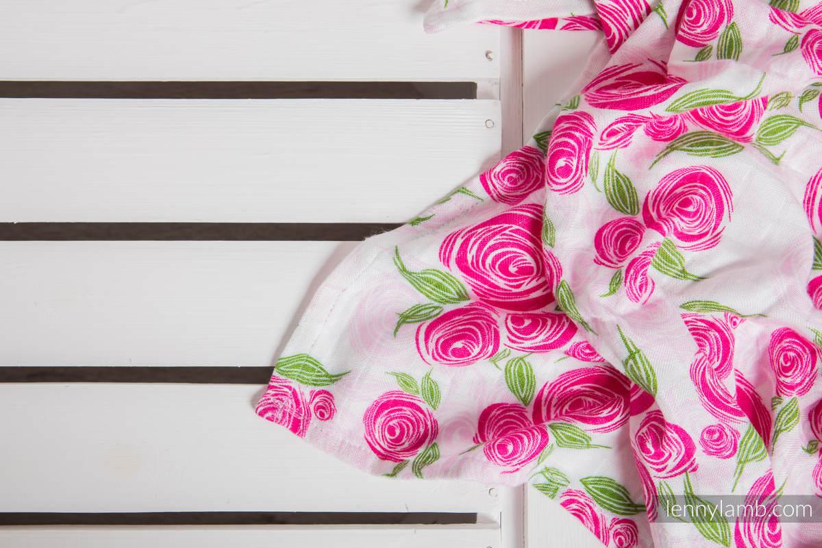 Swaddle Blanket - ROSE BLOSSOM (grade B) #babywearing