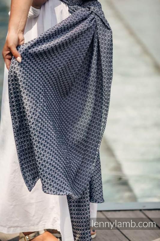 Baby Wrap, Jacquard Weave (100% cotton) - LITTLE LOVE - HARMONY - size L #babywearing