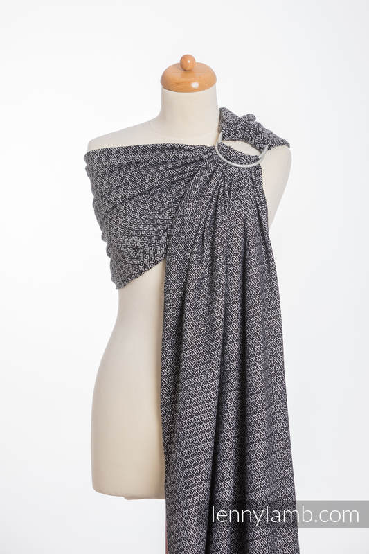 Ringsling, Jacquard Weave (100% cotton) - LITTLE LOVE - HARMONY #babywearing