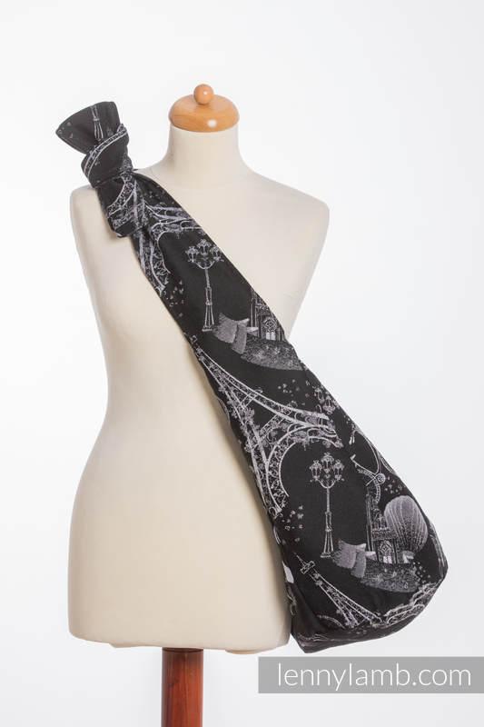 Hobo Tasche, hergestellt vom gewebten Stoff (100% Baumwolle) - CITY OF LOVE AT NIGHT  #babywearing
