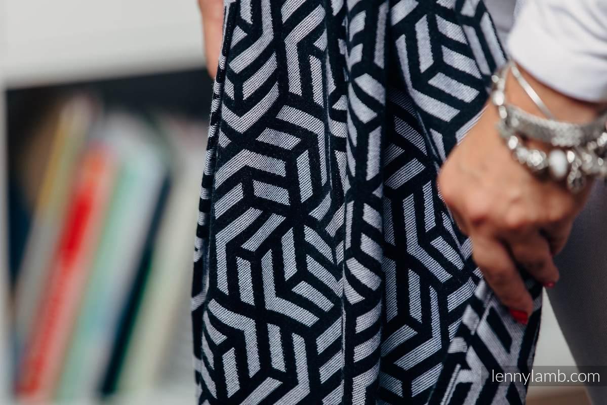 Fular Línea Básica - HEMATITE, tejido Jacquard, 100% algodón, talla XS #babywearing