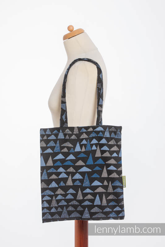 Shopping bag made of wrap fabric (100% cotton) - EAGLES' STONES #babywearing