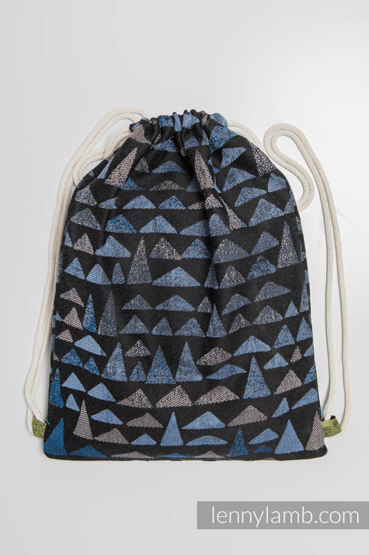 Sackpack made of wrap fabric (100% cotton) - EAGLES' STONES - standard size 32cmx43cm #babywearing