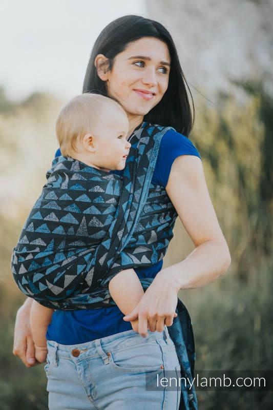 Baby Wrap, Jacquard Weave (100% cotton) - EAGLES' STONES - size S #babywearing
