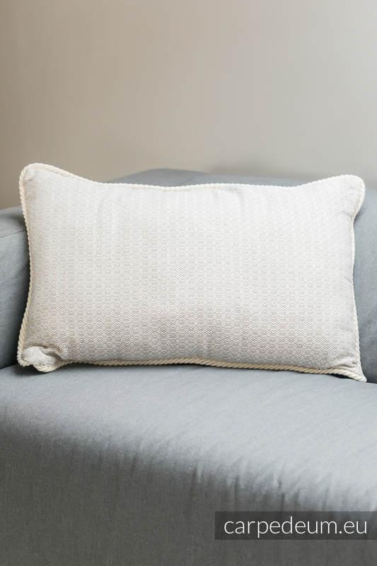 Poduszka żakardowa, (100% bawełna) - MATKA BOŻA TIHALJINA - uniwersalny rozmiar 62cmx43cm #babywearing