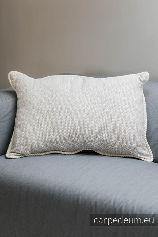 Poduszka żakardowa, (100% bawełna) - MICHAŁ ARCHANIOŁ - uniwersalny rozmiar 62cmx43cm #babywearing