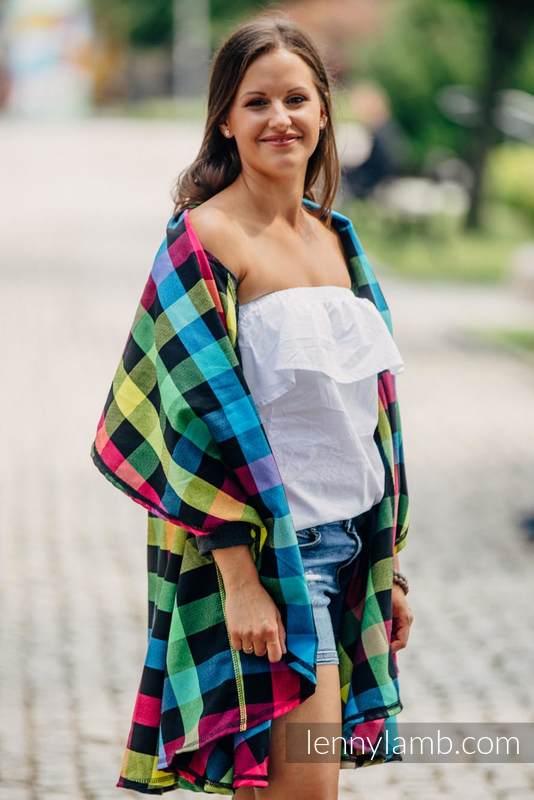 Long Cardigan - size L/XL - Diamond Plaid #babywearing