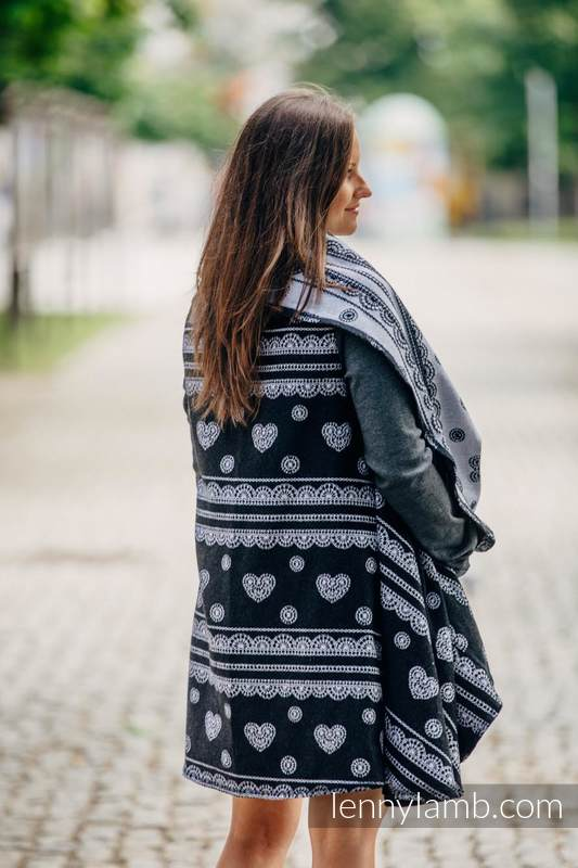 Long Cardigan - plus size - Glamorous Lace #babywearing