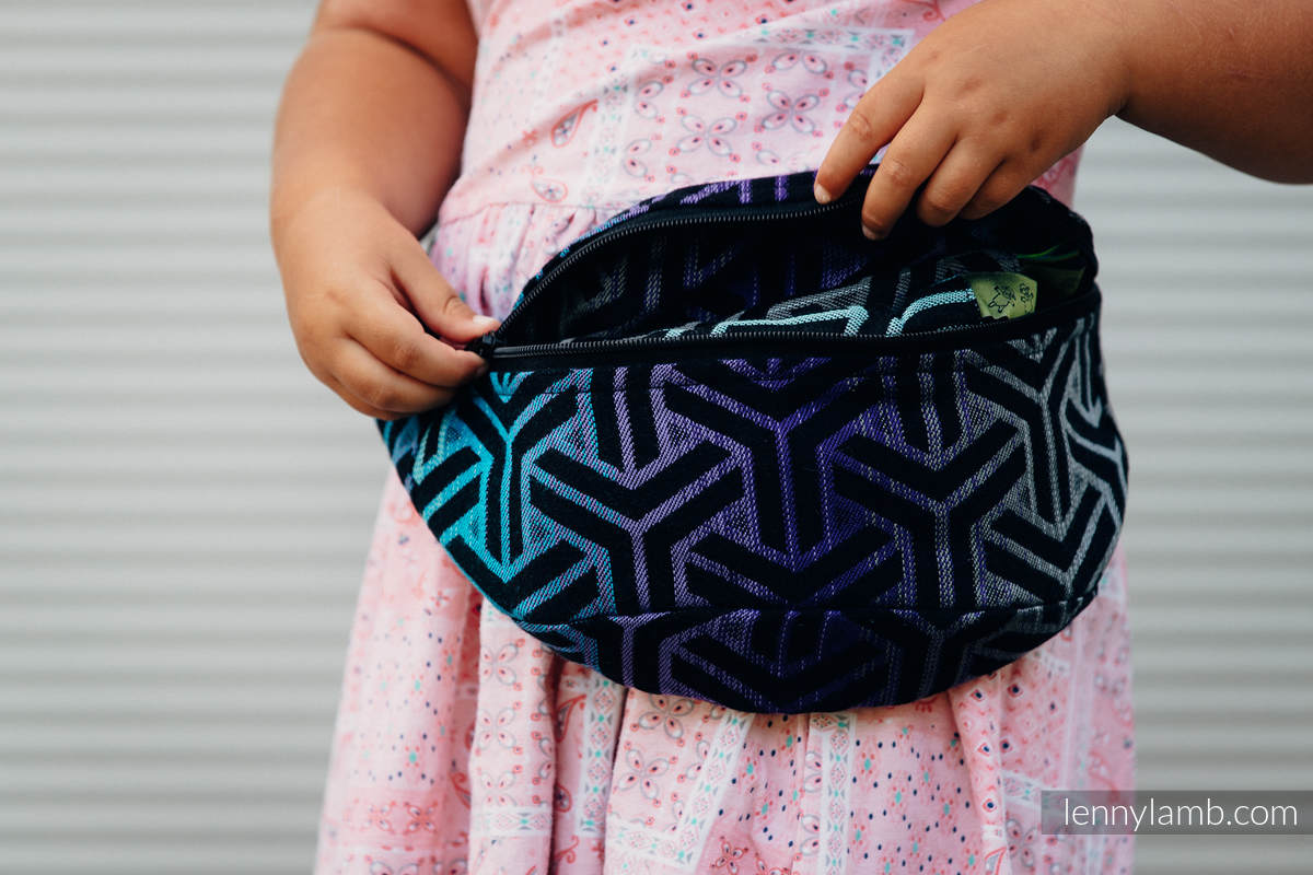 Waist Bag made of woven fabric, (100% cotton) - TRINITY COSMOS #babywearing