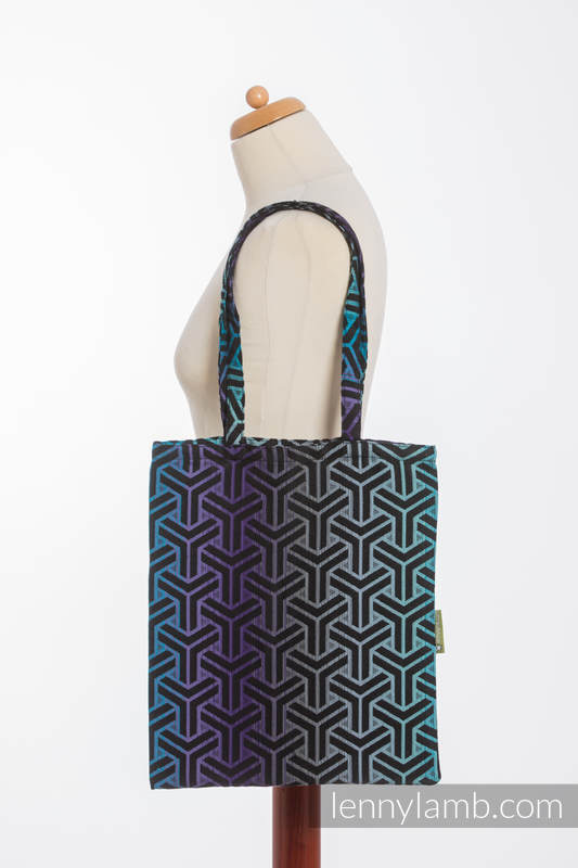 Shopping bag made of wrap fabric (100% cotton) - TRINITY COSMOS #babywearing