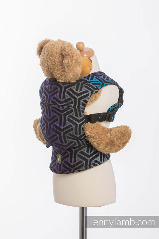 Doll Carrier made of woven fabric, 100% cotton - TRINITY COSMOS #babywearing