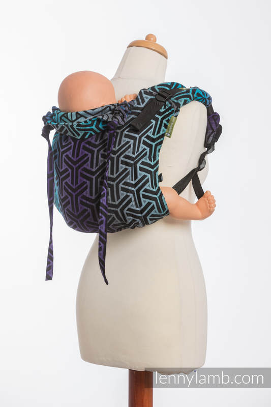 Lenny Buckle Onbuhimo Tragehilfe, Größe Toddler, Jacquardwebung (100% Baumwolle) - TRINITY COSMOS #babywearing