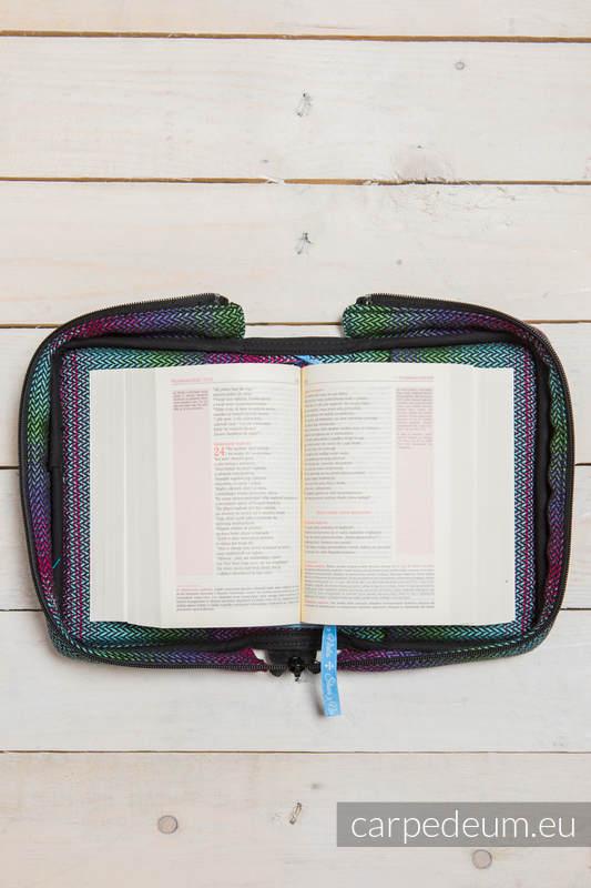 Etui na Pismo Święte MAŁA JODEŁKA IMPRESJA DARK - wymiar 16.5x11x6.5 #babywearing