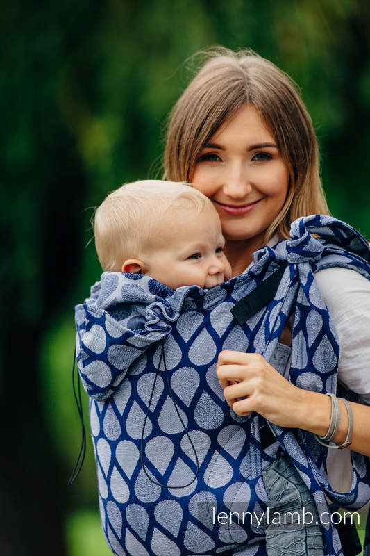 Hobo Bag made of woven fabric, 100% cotton - JOYFUL TIME TOGETHER #babywearing