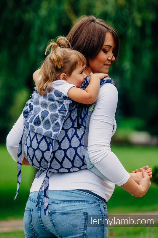 Lenny Buckle Onbuhimo baby carrier, standard size, jacquard weave (100% cotton) - JOYFUL TIME TOGETHER #babywearing