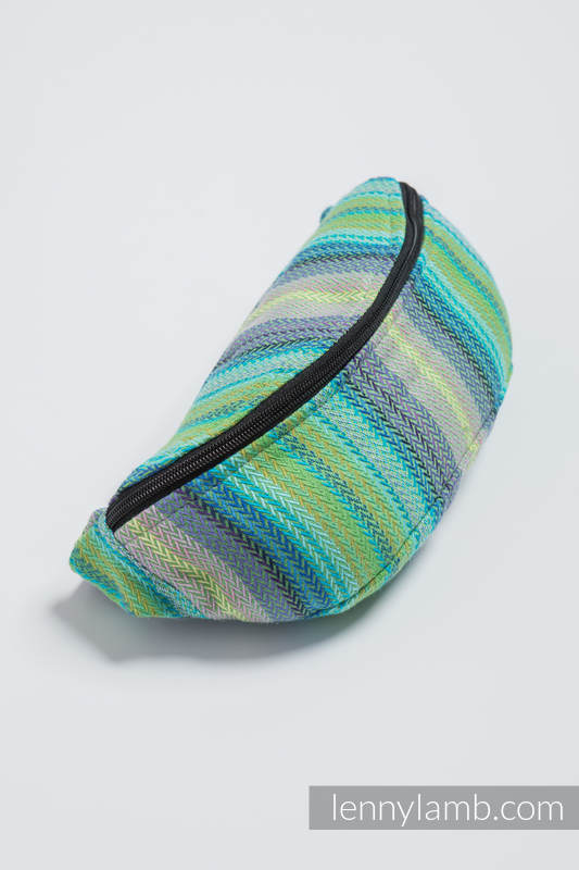 Waist Bag made of woven fabric, (100% cotton) - LITTLE HERRINGBONE AMAZONIA #babywearing