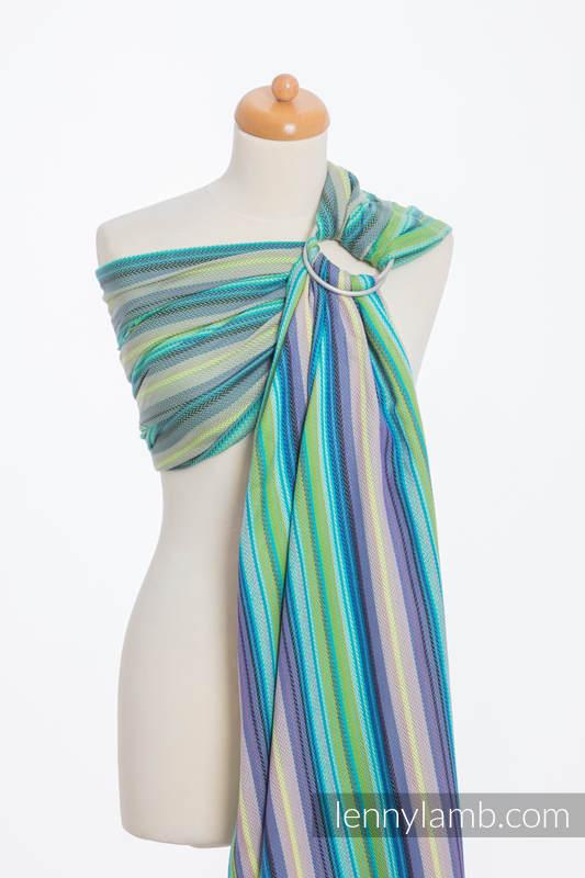 Ringsling, Herringbone Weave (100% cotton) - LITTLE HERRINGBONE AMAZONIA #babywearing