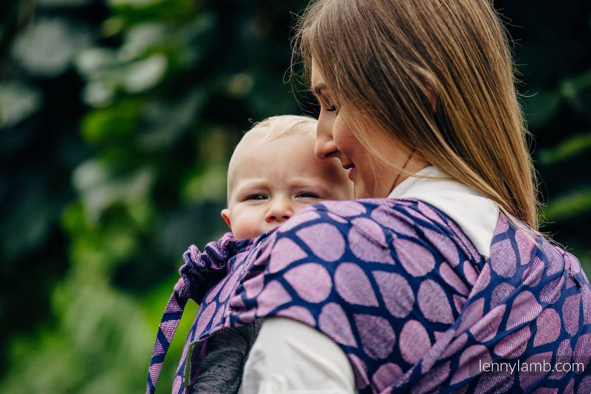 WRAP-TAI carrier Mini with hood/ jacquard twill / 100% cotton / JOYFUL TIME WITH YOU  #babywearing