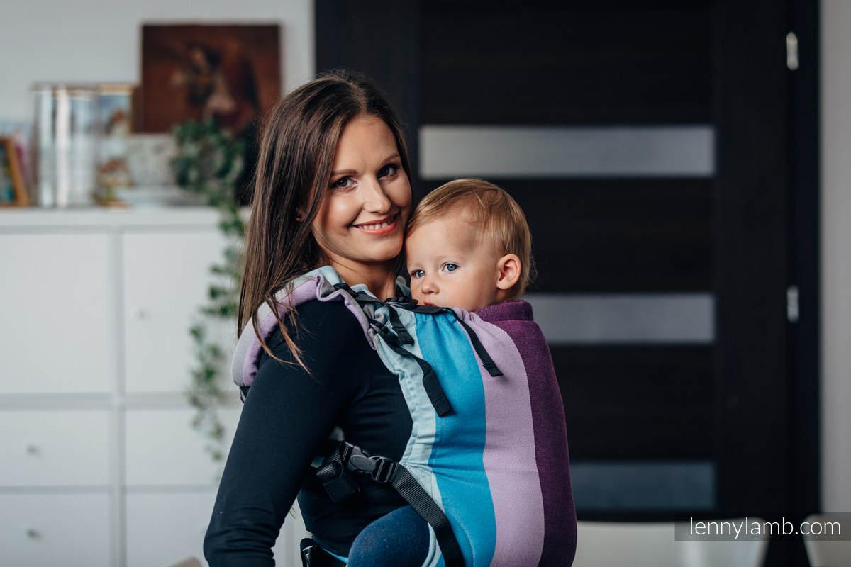 LennyUp Carrier, Standard Size, diamond weave 100% cotton - ICELANDIC DIAMOND #babywearing
