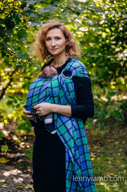 Ring Sling - 100% Cotton - Twill Weave - COUNTRYSIDE PLAID #babywearing