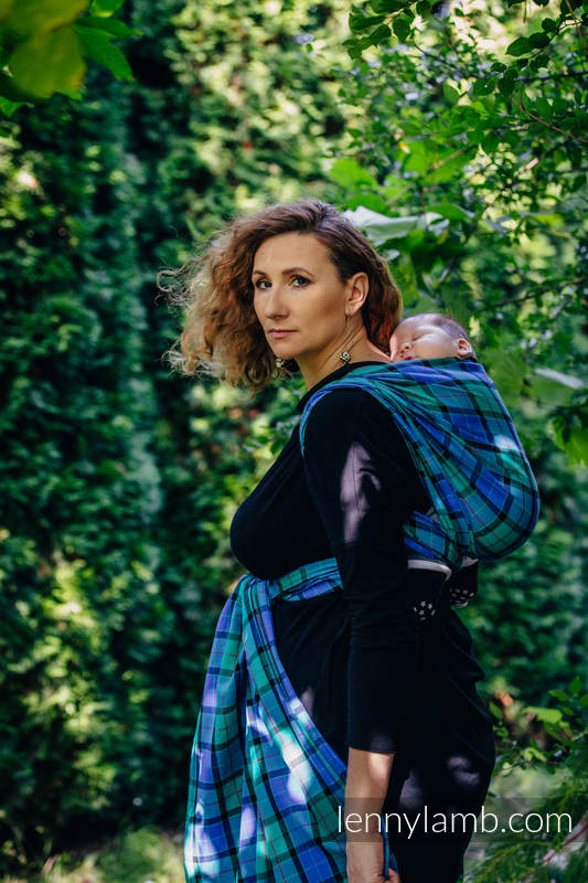 Baby Sling, Twill Weave, 100% cotton,  COUNTRYSIDE PLAID - size XL #babywearing