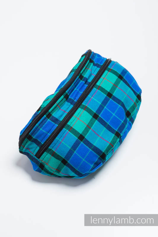Waist Bag made of woven fabric, size large (100% cotton) - COUNTRYSIDE PLAID #babywearing