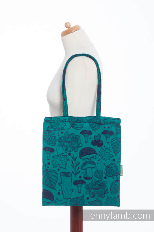 Shopping bag made of wrap fabric (100% cotton) - UNDER THE LEAVES #babywearing