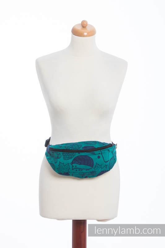 Waist Bag made of woven fabric, (100% cotton) - UNDER THE LEAVES #babywearing