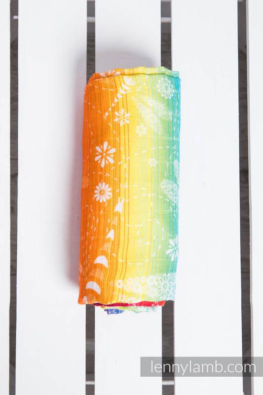 Swaddle Wrap - DRAGONFLY RAINBOW (grade B) #babywearing