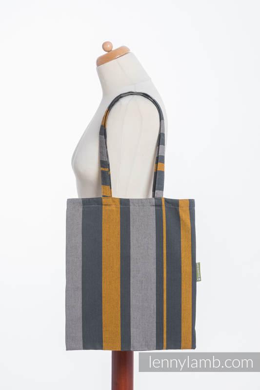 Shopping bag made of wrap fabric (100% cotton) - SMOKY - HONEY #babywearing
