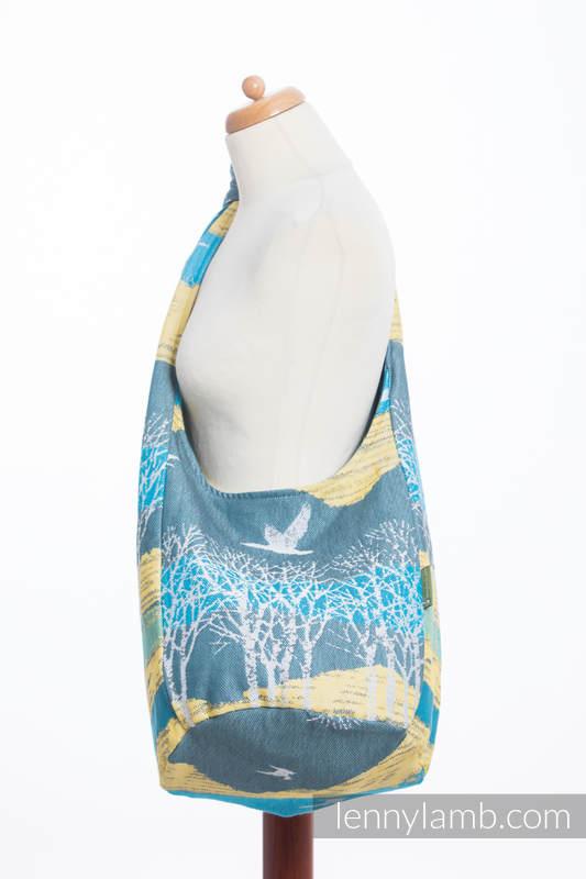 Hobo Bag made of woven fabric, 100% cotton - WANDER  #babywearing