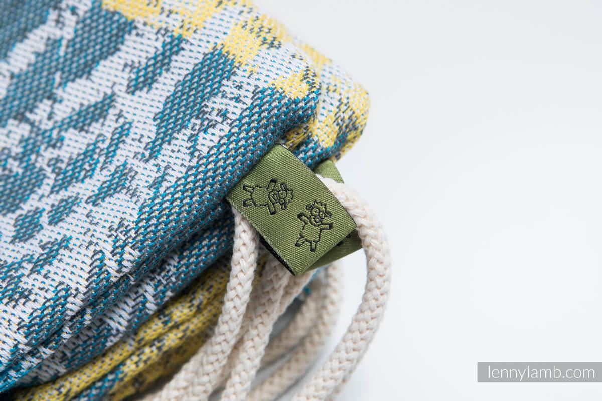 Plecak/worek - 100% bawełna - WĘDRÓWKA - uniwersalny rozmiar 32cmx43cm #babywearing