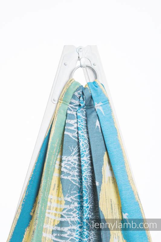 Ringsling, Jacquard Weave (100% cotton) - WANDER  - long 2.1m #babywearing