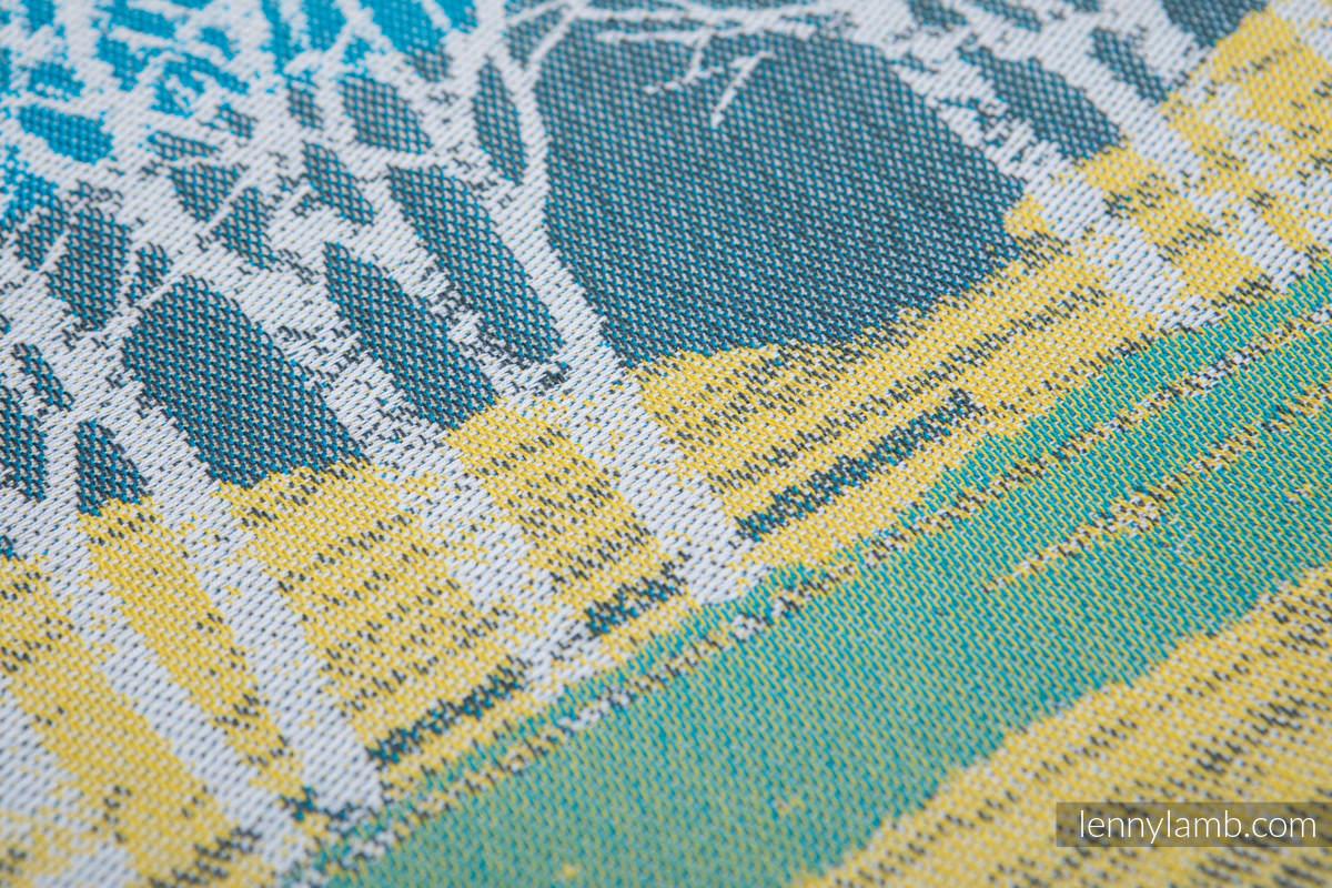 Baby Wrap, Jacquard Weave (100% cotton) - WANDER - size XS #babywearing