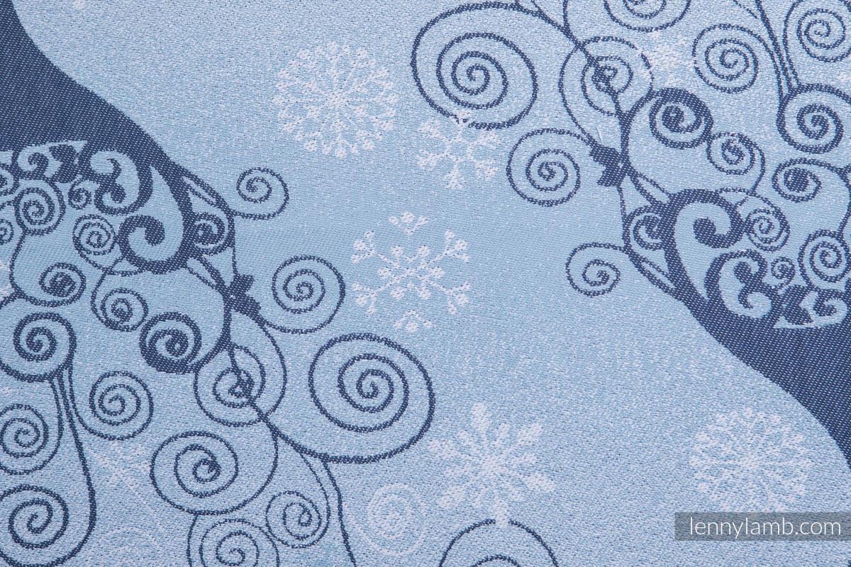 Baby Wrap, Jacquard Weave (100% cotton) - WINTER PRINCESSA - size XS #babywearing