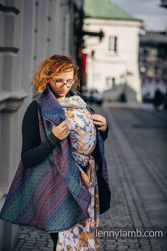 Long Cardigan - size L/XL - Big Love Sapphire #babywearing