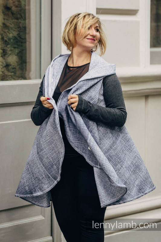 Long Cardigan - Plus Size - Denim Blue #babywearing