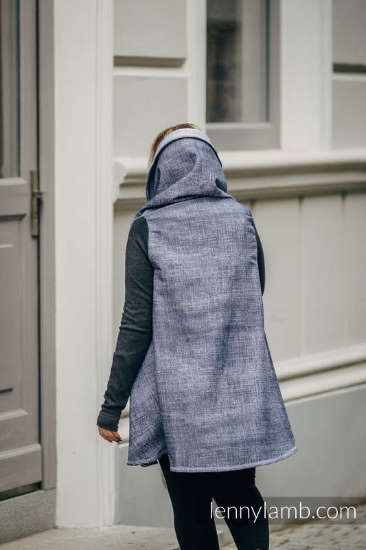 Long Cardigan - size L/XL - Denim Blue #babywearing