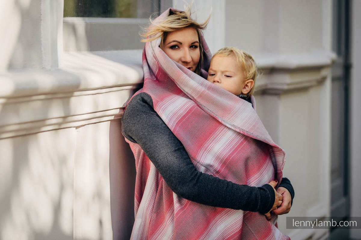 Long Cardigan - size 2XL/3XL - Little Herringbone Elegance #babywearing