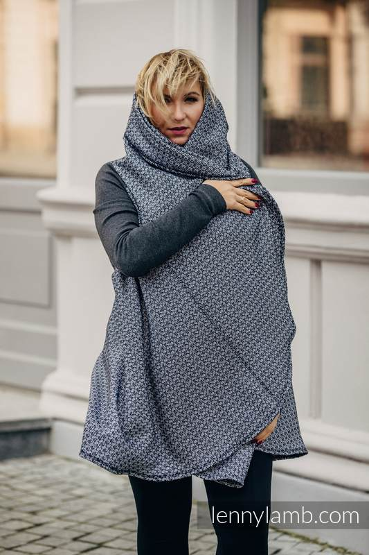 Long Cardigan - plus size - Little Love Harmony #babywearing