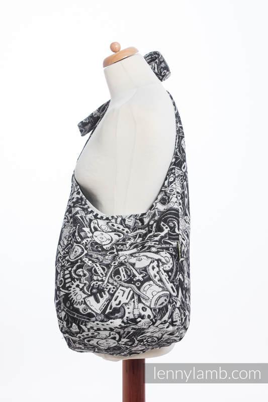 Torba Hobo z materiału chustowego, (100% bawełna) - MECHANIZM  #babywearing