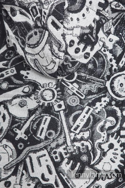 Nosidełko Ergonomiczne z tkaniny żakardowej 100% bawełna , Toddler Size, MECHANIZM - Druga Generacja #babywearing