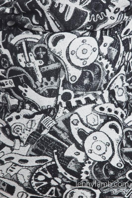 Żakardowa chusta do noszenia dzieci, bawełna - MECHANIZM - rozmiar XL #babywearing