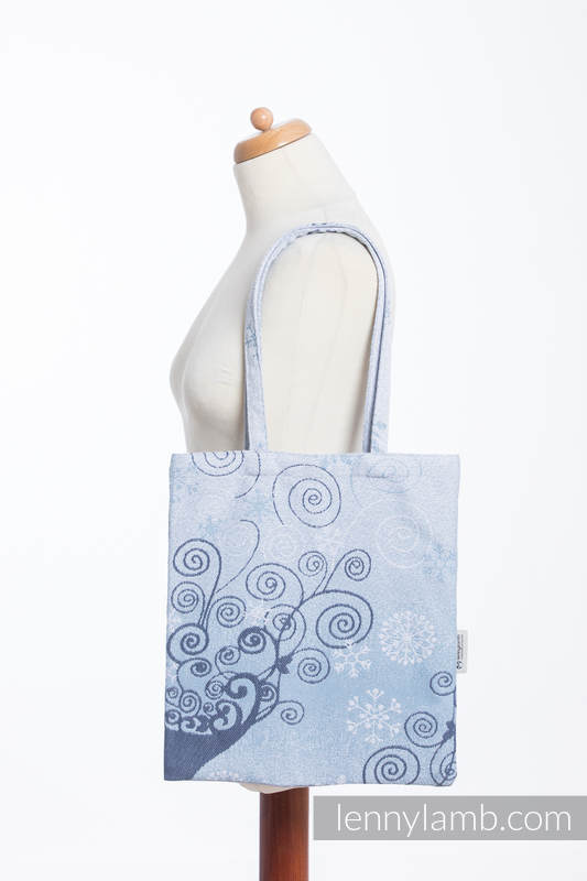 Shopping bag made of wrap fabric (100% cotton) - WINTER PRINCESSA  #babywearing