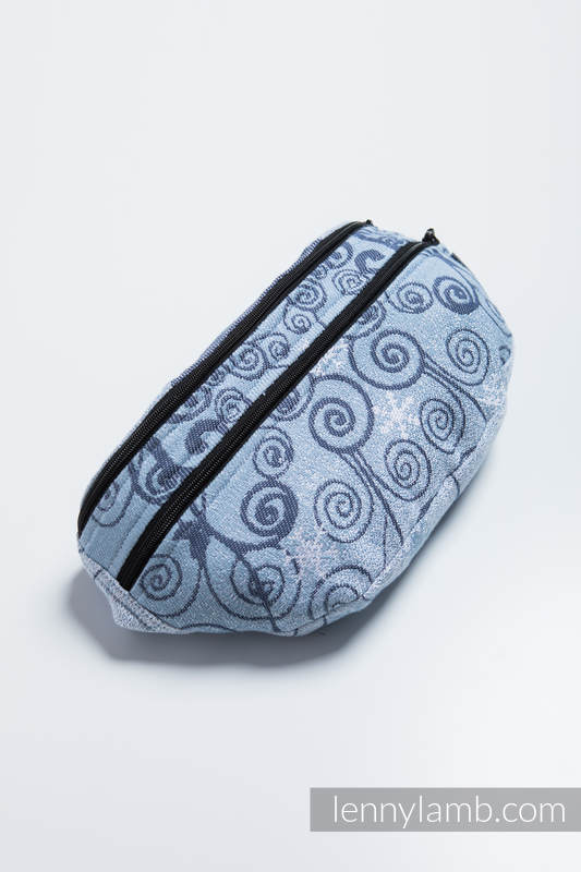 Waist Bag made of woven fabric, size large (100% cotton) - WINTER PRINCESSA  #babywearing