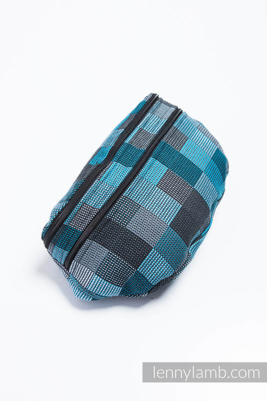 Waist Bag made of woven fabric, size large (100% cotton) - QUARTET RAINY  #babywearing