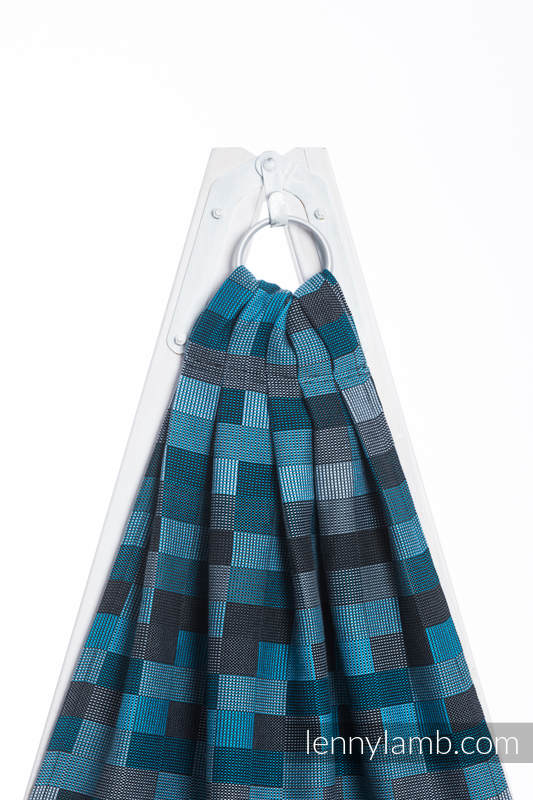 Ringsling, Crackle Weave (100% cotton) - QUARTET RAINY  #babywearing