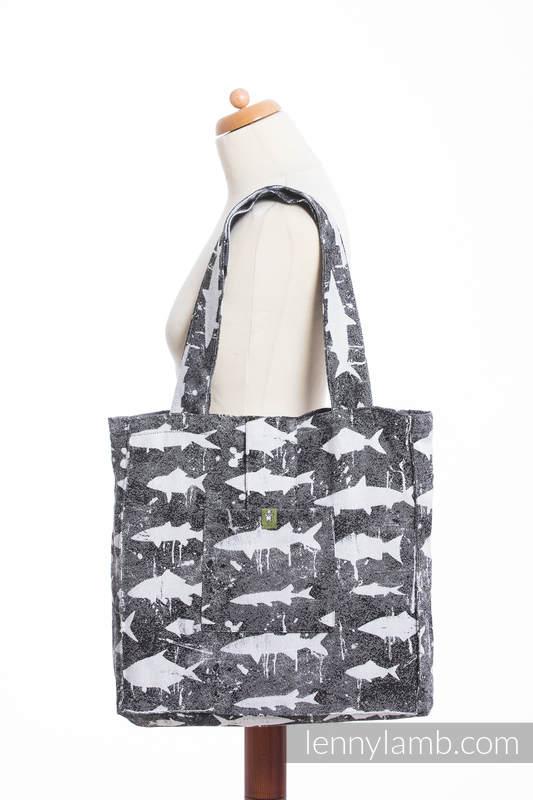 Shoulder bag made of wrap fabric (100% cotton) - FISH'KA - standard size 37cmx37cm #babywearing